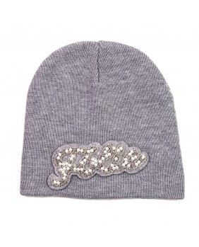 SHOP ART CAPPELLO PATCH CON PERLE