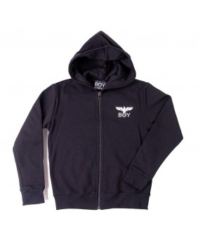 BOY LONDON FELPA ZIP LOGO
