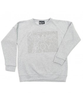 BOY LONDON FELPA LOGO STRASS BIMBA