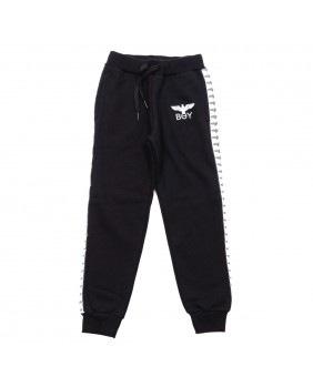 BOY LONDON PANTALONE FELPA BANDA