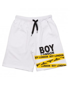 BOY LONDON BERMUDA FELPA LOGO