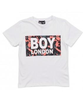 BOY LONDON TSHIRT STAMPATA