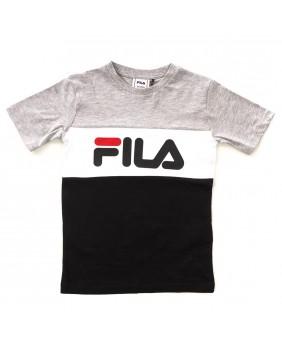 FILA T-SHIRT BLOCKED