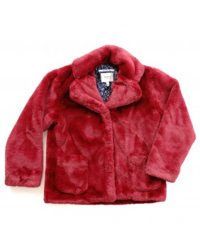 PEPE JEANS LONDON CAPPOTTO ECOPELLICCIA