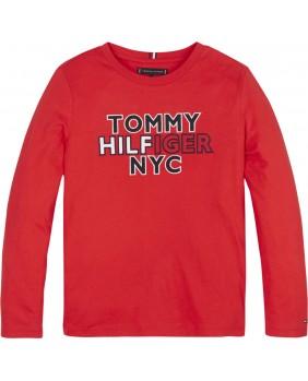 TOMMY HILFIGER TSHIRT LOGO