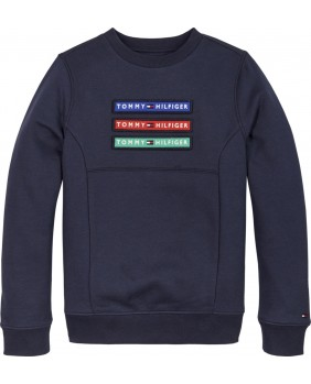 TOMMY HILFIGER MAGLIA VELCRO