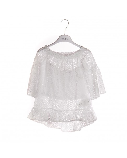 purchase cheap efbde affae ELSY CAMICIA PIZZO