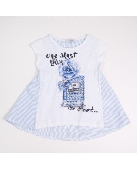 ELSY T-SHIRT CON STRASS